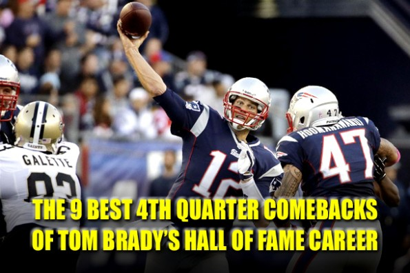 tom brady best 4th quarter comebacks