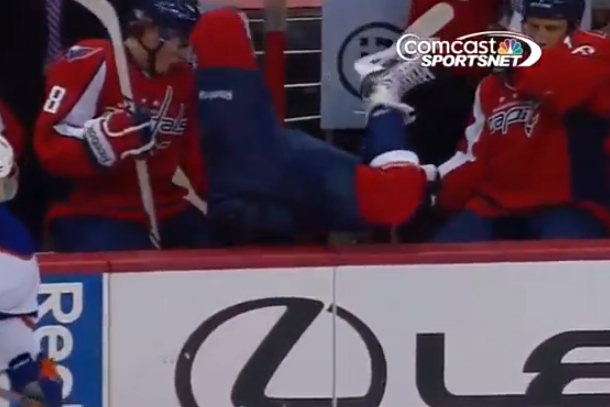 washington capitals mike green over the boards line change