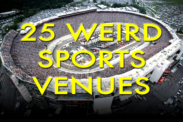 weird unusual sports venues
