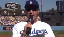 Will Ferrell Reads Starting Lineup as Dodgers Stave Off Elimination (Video)