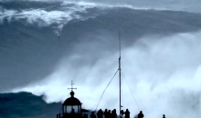 Brazilian Surfer Carlos Burle Saves Woman's Life, Then Surfs Biggest Wave Ever (Video)