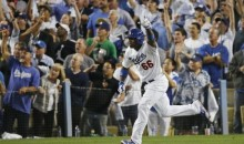 Yasiel Puig Hits a Triple, Flips His Bat During Game 3 of the NLCS (GIFs)