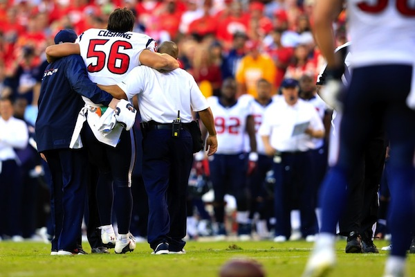2 brian cushing injury - biggest nfl injuries 2013