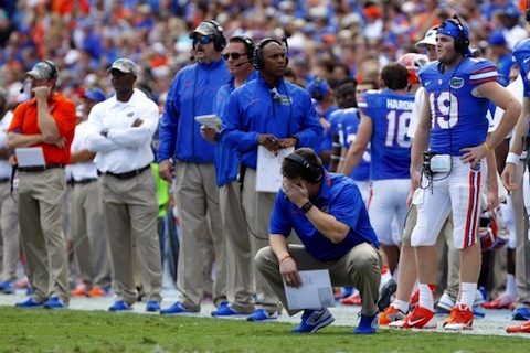2 will muschamp - least thankful people in sports (athletes who aren't very thankful this thanksgiving)