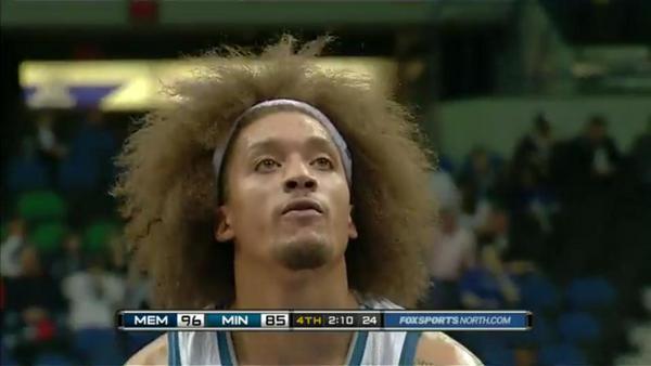 24 michael beasly hair - great ridiculous nba haircuts