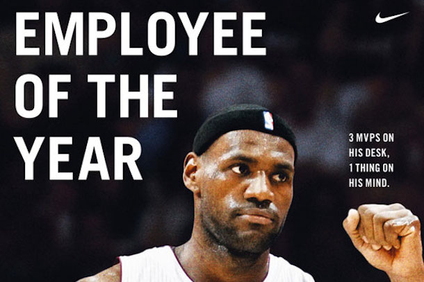 3 lebon james nike employee of the year ad