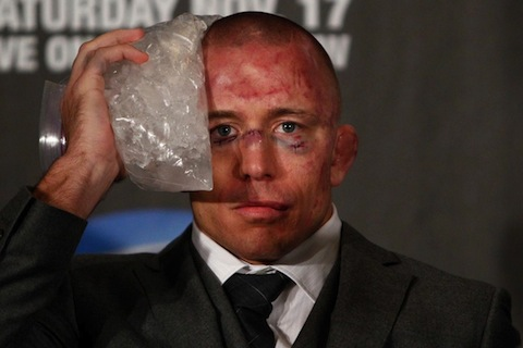 4 george st-pierre post fight - least thankful people in sports (athletes who aren't very thankful this thanksgiving)