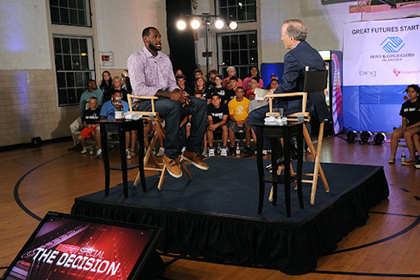 4 the decsion (lebron james espn)