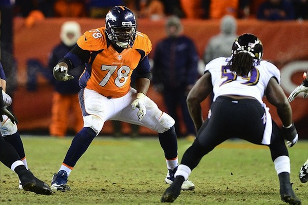 9 ryan clady broncos - biggest nfl injuries 2013