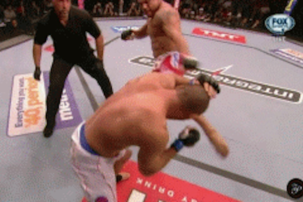 Belfort vs. Henderson knockout