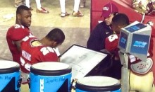 FSU Players Seen Playing Hangman During Blowout Victory (Photo)