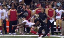 Saints' Jabari Greer Suffers Nasty Leg Break (GIFs + Video)