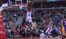 John Wall Threw Down an Incredible 360-Degree Dunk vs. the Lakers (GIF)