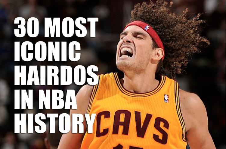 NBA hair - best nba hair - crazy nba haircuts