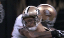 49ers Ahmad Brooks Dirty Hit On Saints Drew Brees (GIFs)
