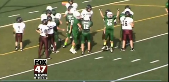 Special Needs Football Play