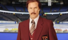 Will Ferrell to Call Canadian Curling Event for TSN as Ron Burgundy (Video)