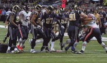 Chris Long Runs Off Bench to Pull Brother Kyle Long Out of Scuffle (GIF)