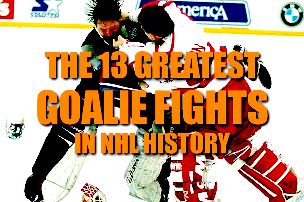 best goalie fights nhl history