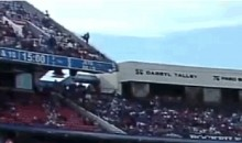 CBS Broadcasts Buffalo Bills Fan's Horrifying Fall from the Upper Deck of Ralph Wilson Stadium (GIFs)