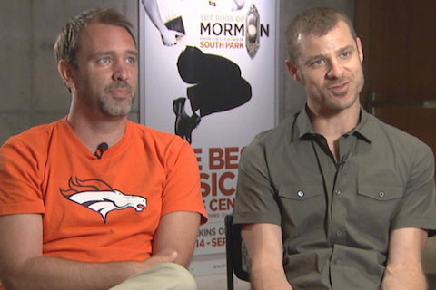 broncos fans trey parker and matt stone