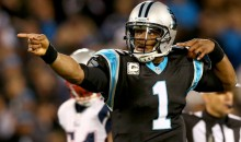 Cam Newton Was Breaking Ankles Last Night Against New England (GIFs)