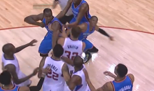 Only in the NBA: Thunder-Clippers Shoving Match Results in Two Ejections, Profane Tweet (Video)