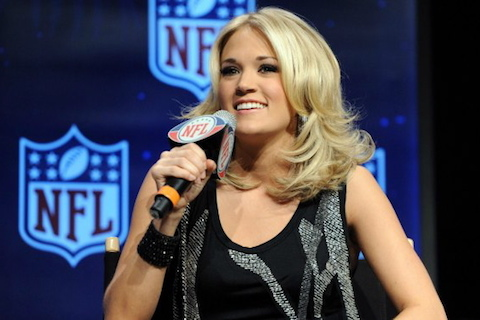 dallas cowboys fan carrie underwood