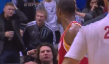 Dwight Howard Throws Ball at Mavericks Fan, Which Is a No-No (Video + GIF)
