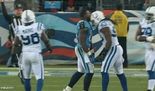 Colts Linebacker Erik Walden Headbutts Helmet-Less Titans Player (GIF)