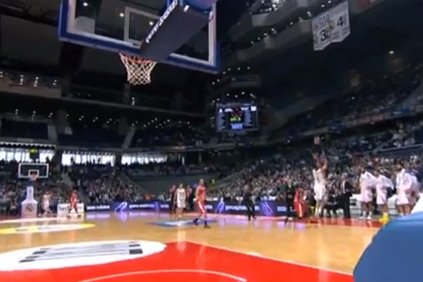 felipe reyes amazing three point buzzer beater