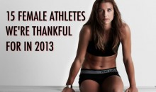 15 Female Athletes We're Thankful For In 2013