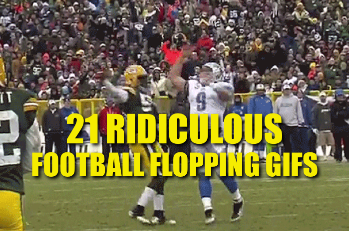 football flopping gifs