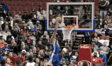 Andrea Iguodala Destroyed the 76ers with Showtime Dunks and Behind-the-Back Passes (GIFs)