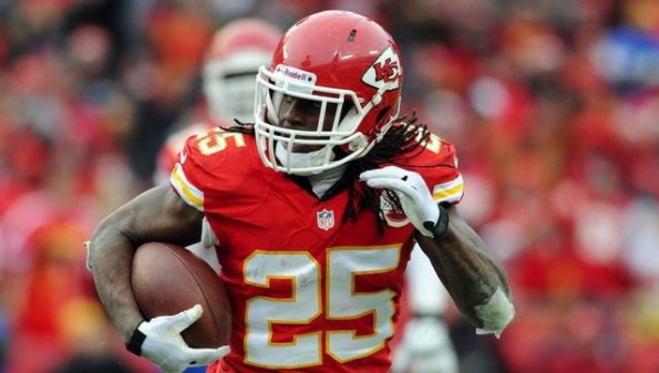 jamaal charles chiefs rb