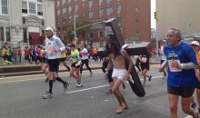 Jesus Ran the New York City Marathon With His Cross (Photos)