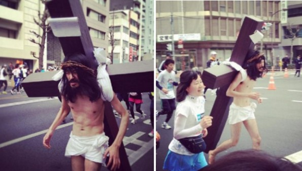 jesus new york marathon 3