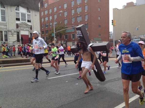 jesus new york marathon