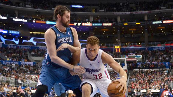 kevin love vs clippers