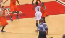 Louisville's Kevin Ware Returns From Gruesome Leg Injury, Drains a Three on First Shot (Video)