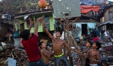 In the Philippines, a Basketball Game Breaks Out Amidst the Wreckage of Typhoon Haiyan (Photo)