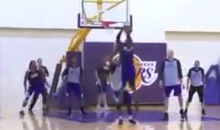 Kobe Bryant Is Practicing and Thinks He Could Return by the End of the Month (Video)