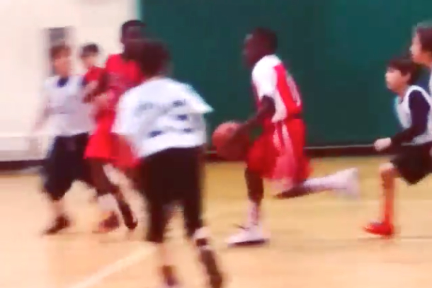 lebron jr basketball skills