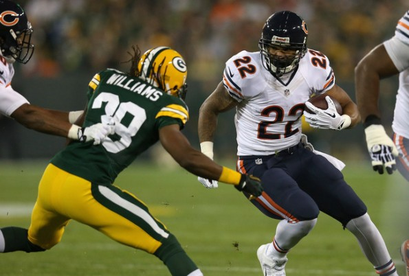 matt forte vs packers