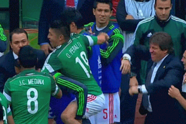 mexican goal celebration