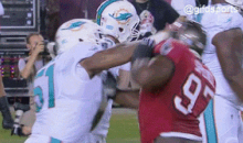The Dolphins and Bucs Were Taking Their Bottled Up Aggression Out on Each Other Last Night (GIFs)