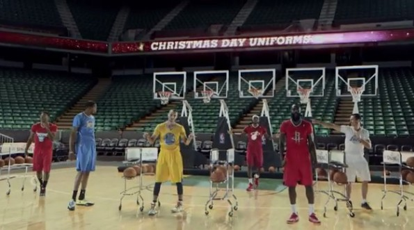 nba christmas day ad