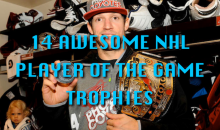 14 Awesome NHL Player of the Game Trophies