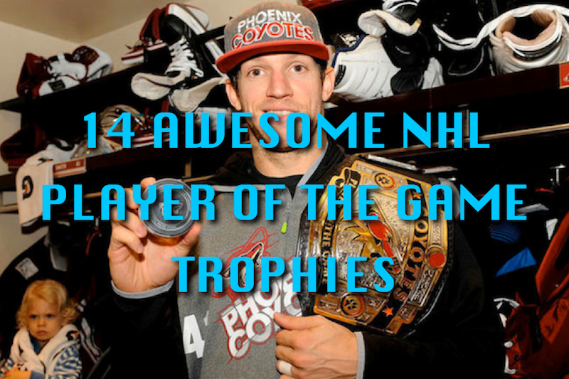 nhl player of the game trophies