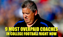 9 Most Overpaid Coaches in College Football Right Now